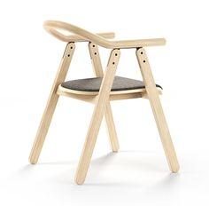TOON chair by Radek Nowakowski, via Behance