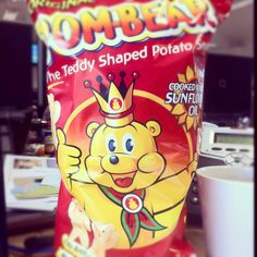 Pombears - the standard way to bribe a Community Manager into doing work...