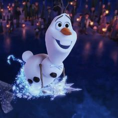 Flying Olaf