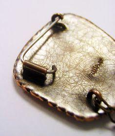 Simple Brooch Pin backs.   FluxPlay.