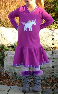 lillesol & pelle Schnittmuster/ pattern: Herbstkombi Kleid & Shirt
