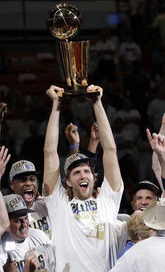 Way to go Dallas Mavericks!!!