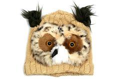 Owl - Kid's Animal Cap