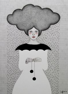 Rain by Sofia Bonati on Behance♥•♥•♥