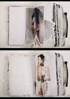 Creative Fashion Sketchbook - mixed media sketchbook pages; fashion design portfolio inspiration // Ania Leike : Creative Fashion Sketchbook - mixed media sketchbook pages; Sketchbook Layout, Textiles Sketchbook, Fashion Design Sketchbook, Fashion Design Portfolio, Sketchbook Pages, Sketchbook Inspiration, Portfolio Design, Drawing Fashion, Sketchbook Drawings