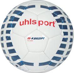 Uhlsport M-Konzept Team Fussball - hervorragender Trainingsball in weiß/marine/rot. Ab sofort bei uns online und im Store in Hainburg erhältlich.