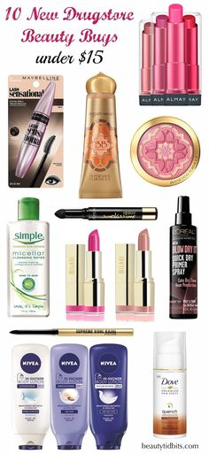 Best new drugstore beauty products for 2015