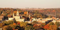 fall day is captured in Decorah, Iowa by Brian Peterson!