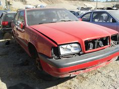 Volvo 850 in junkyards of BC (1994)