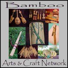 Learning how to work with bamboo.