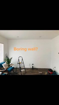 Easy way to upgrade any boring wall. #accentwallideas #accentwalls #diy Dark Accent Walls, Accent Walls In Living Room, Home Design Plans, Plan Design, Board And Batten, Buy Wood, Moulding, Textured Walls, Bedroom Ideas
