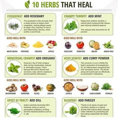 10 Amazing Herbs and Spices That Heal. These herbs are very powerful and effective to heal your family's ailments. Aromatic Herbs, Healing Herbs, Medicinal Herbs, Natural Healing, Natural Herbs, Au Natural, Natural Living, Natural Beauty, Natural Home Remedies