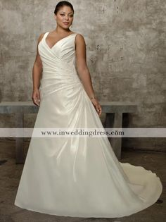 V-neck wrapped bodice with hand sequance