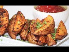 Deliciosas Papas al Horno - YouTube Side Dish Recipes, Side Dishes, Vegan Vegetarian, Vegetarian Recipes, My Favorite Food, Favorite Recipes, Easy Snacks, Potato Recipes, Tandoori Chicken