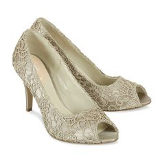 Loving the stunning Cosmos - Taupe by Paradox London from Trousseau Bridal Shoes, New Zealand