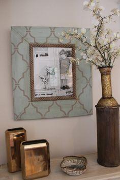 11 x 14 enrejado angustiado madera foto marco Quiteude granero grande madera gris