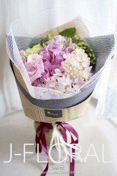 Flower bouquet wrap package