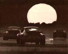 A Porsche Sunset #porsche 911 >>> can not miss that rear end