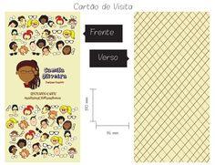 Cartão de visita- primeira versão- Frente e Verso