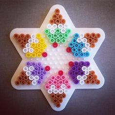Ice cream hama perler beads by hamabra Swaps! Easy Perler Bead Patterns, Melty Bead Patterns, Diy Perler Beads, Perler Bead Art, Mosaic Patterns, Canvas Patterns, Melty Beads Ideas, Hama Beads Kawaii, Embroidery Patterns