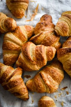 This three-day version of my Classic French Croissant is the real deal! There are no shortcuts, but you will achieve the closest thing to real French Bakery Croissants (if not the same). The three … French Bakery, French Pastries, Italian Pastries, French Food, French Patisserie, French Cafe, French Desserts, Sashimi, French Croissant