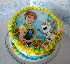 Cake Frozen fever birthday cake