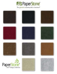 Captivating PaperStone Is An Attractive Surface Material For Counters, Vanities, And  Furniture, That Is
