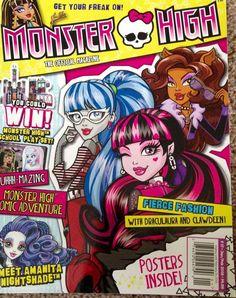 Monster High 2016 January February Issue Magazine New   eBay