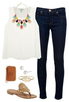 OOTD by thevirginiaprep on Polyvore featuring Joie, J Brand, Tory Burch, Kate Spade, Givenchy and Jack Rogers