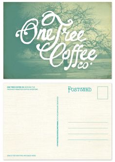 One Tree Coffee Product Redesign