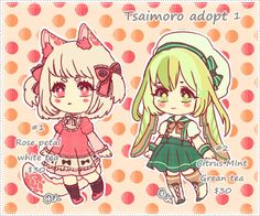 Tsaimoro adoptables 1 Closed by Kaiet.deviantart.com on @deviantART