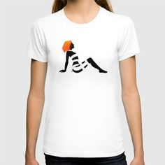 Leeloo+Dallas+Mudflap+T-shirt+by+Castlepöp+-+$22.00