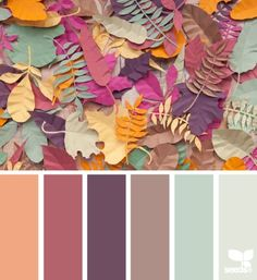 Papered Autumn - http://design-seeds.com/home/entry/papered-autumn