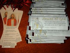 Armor of God Candy Bar Wrapper- FREE. (Baptism gift). Happy Clean Living: Seminary Devotional