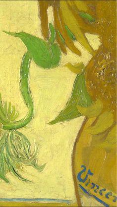 Vaso di Girasoli - particolare
