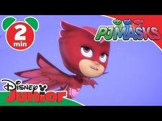 PJ Masks | Sneak Peek: Owlette's Flight School | Disney Junior UK - YouTube