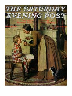 """""""Medicine Giver""""- Norman Rockwell"""