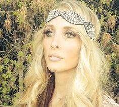 Rhinestone Headband Wedding Headband Women Elastic Headband