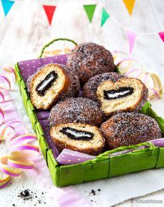 Oreo-munkit Oreo, Biscotti, Doughnut, Bakery, Muffin, Sweets, Snacks, Breakfast, Desserts