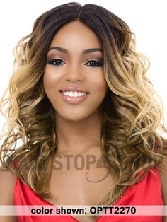 It's A Wig Central Part Swiss Lace Front Wig - WINDLESS
