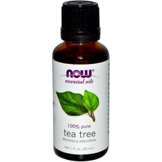 Now Foods Tea Tree Oil 1 Fl Oz! Discount Vitamins and Supplements!