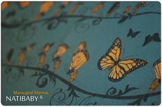 Natibaby: Marsupial Mamas Exclusive: Monarch Release Date: 5 September 2014 Linen, Cotton Weight: 250 Best Steam Iron, Woven Wrap, Life Cycles, Baby Wearing, Little Ones, My Love, Archive, Wraps, Baby Carriers