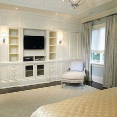 Bedroom Built Ins Design Ideas, Pictures, Remodel, and Decor