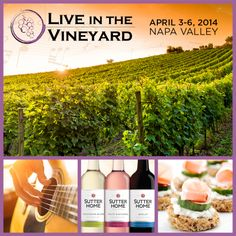 We can't wait for Live in the Vineyard 2014! Only 10 more days!