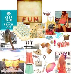 """Fun In The Sun"" by mfhominick on Polyvore"