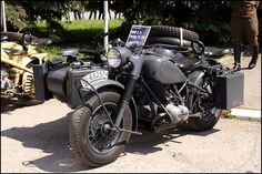 Army motorcycle - BMW R75