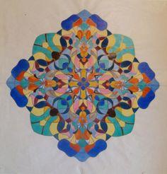 Mandala by patient of Carl Jung