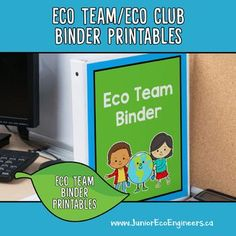 Start up an Eco Club or Eco Team at your school! This bright colourful and editable set of printables comes with an editable action plan for the whole year! Daily 5 Activities, Earth Day Activities, Alphabet Activities, Primary School, Elementary Schools, Eco Kids, Reading Comprehension Strategies, Green School, School Clubs