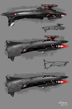 Command Ships by Baranha on DeviantArt