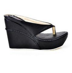 Fashion High Heel Flip Flop Ladies Shoes
